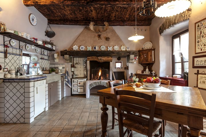 A dairy country in Ossola valley - Beura Cardezza  - B&B