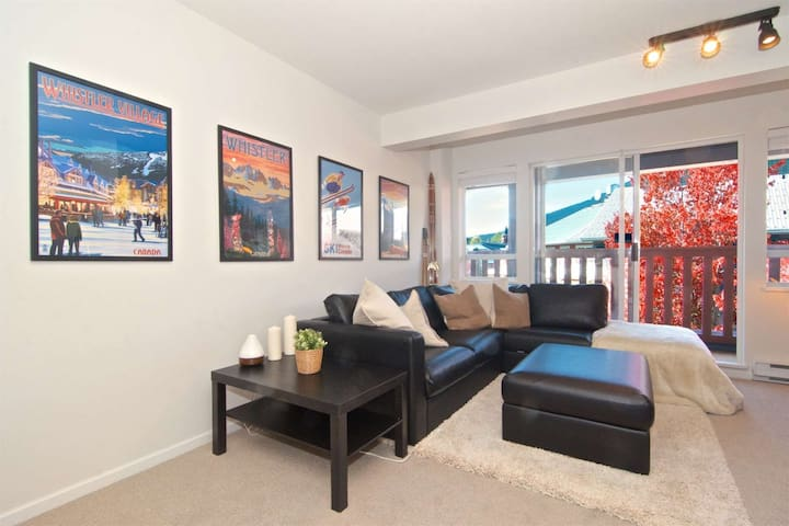 Super cozy and bright with Whistler Art and decor