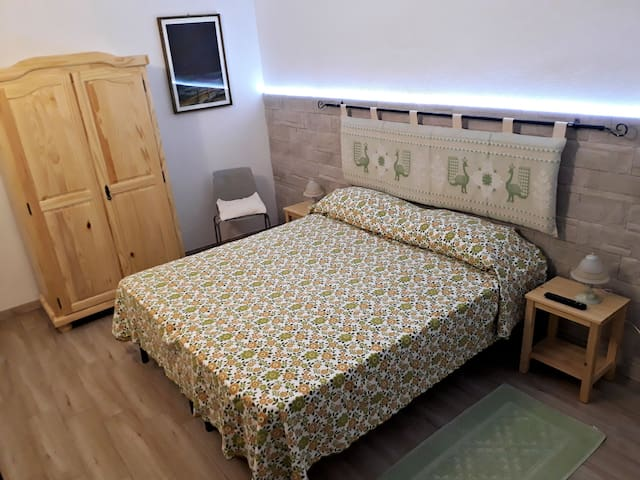 Camera matrimoniale (Verde)/Double room (Green)