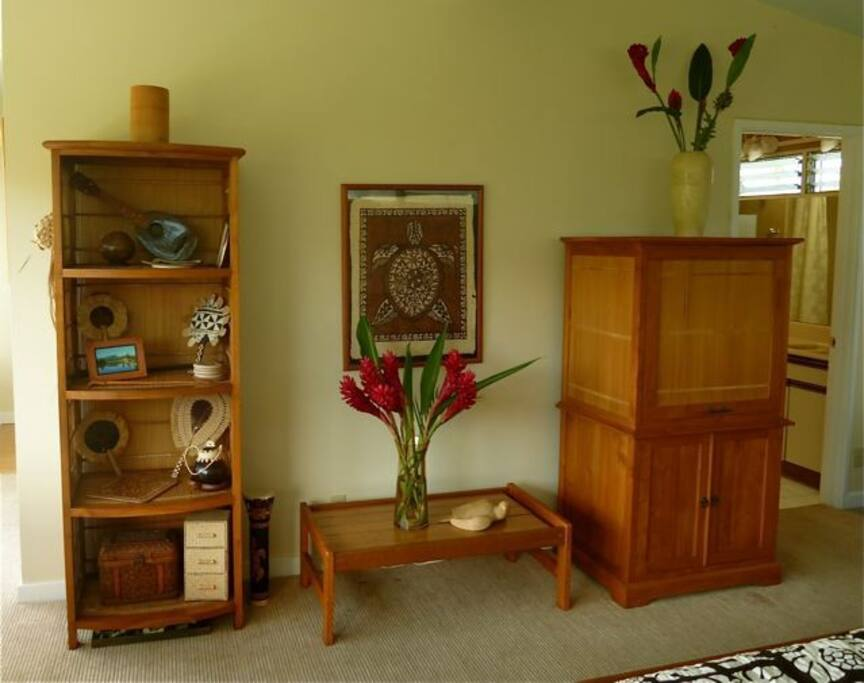 Studio furniture with TV console