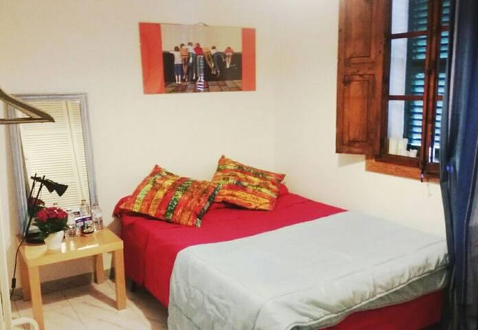 Dormitorio en piso con terraza - Alaró - Departamento
