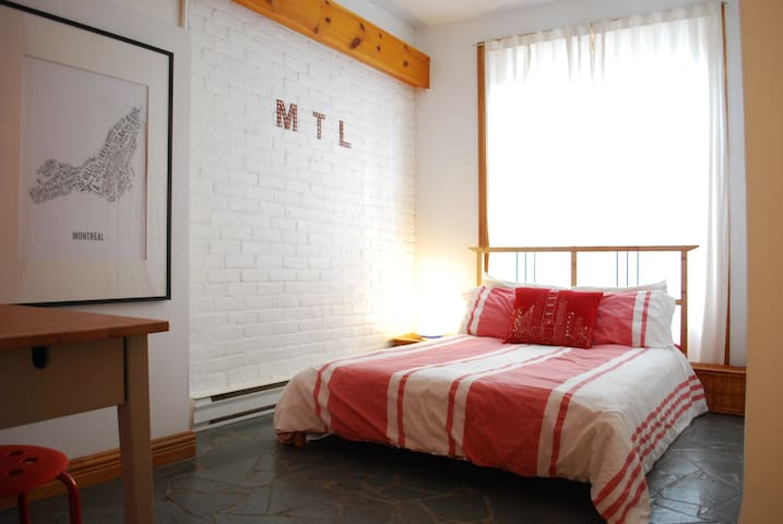 Private room in Le Plateau! - Montreal - Lakás