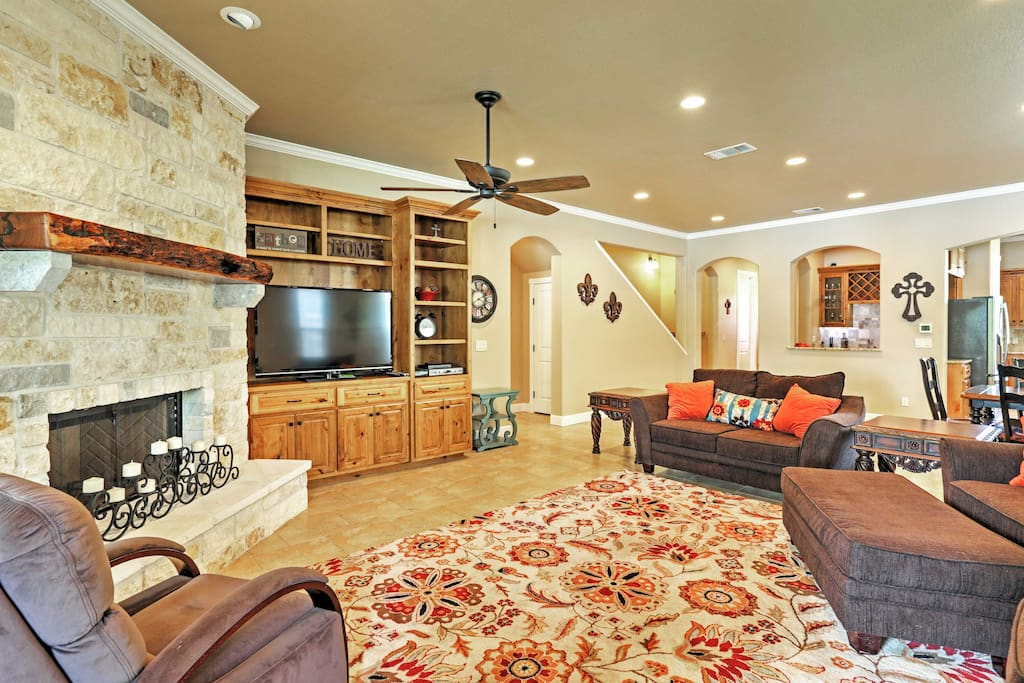 This charming home boasts 3,500 square feet of tasteful, well-maintained living space.