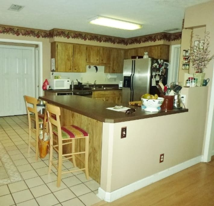 Kitchen,  which you are welcome to use....