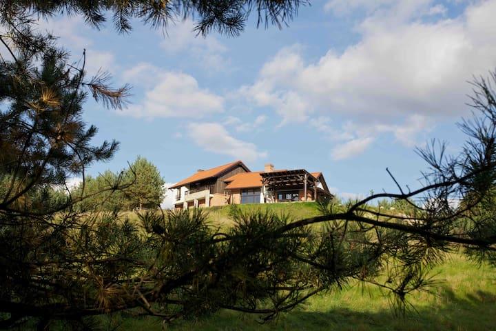 Piekny, duży dom w sercu rezerwatu  - Jar Brynicy poj.brodnickie, gmina Lidzbark - Dom