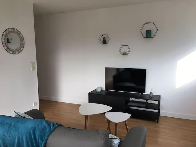 Appartement T2 Plérin à 10 min de la mer