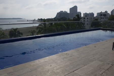Spectacular ocean front duplex - การ์ตาเฮนา - อพาร์ทเมนท์