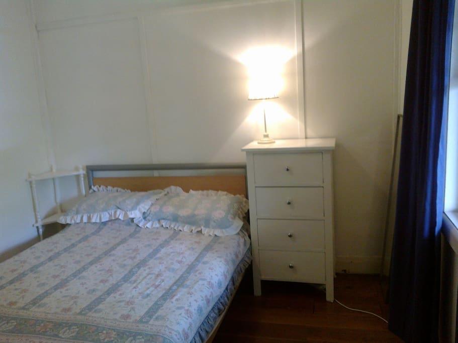 Bedroom: comfortable double bed