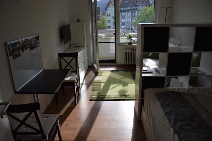 small, cozy apartment, close to train station