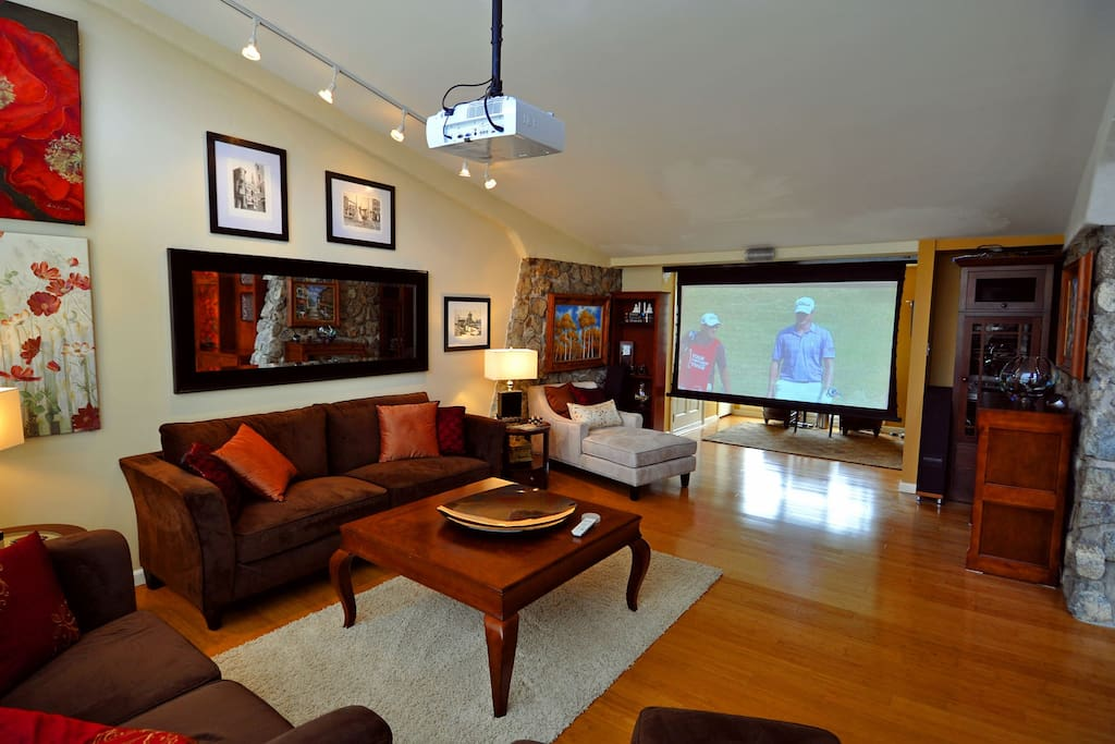 Home Theater with 7.1 Surround Sound