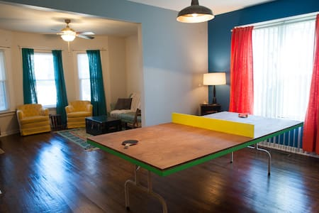 Cozy & Playful 2 BD Apartment - Detroit - Apartamento
