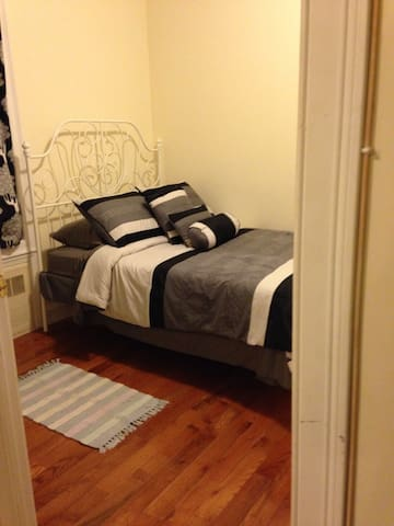 10 min to NYC/Private Room/New Apt - Union City - Apartamento