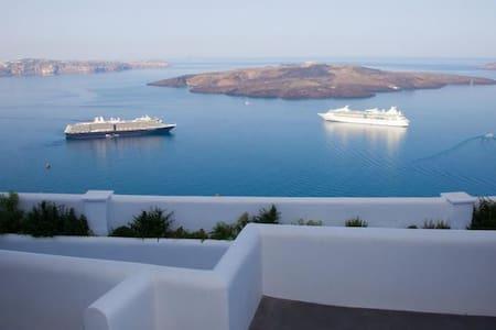 Fanari Magic view,  you wish you were here! - Fira - Piano intero