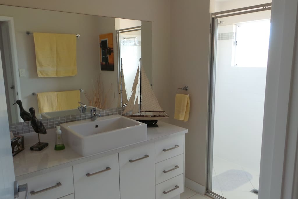 Guests bathroom, with dual shower heads :-)