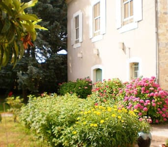 Maison avec piscine - Boucoiran-et-Nozières - Haus