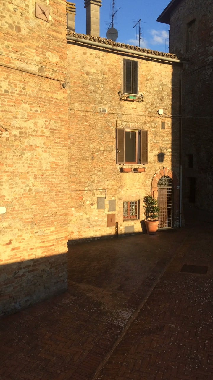 Fantastic view middle age castle - heart of Italy