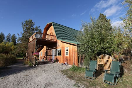 Okanogan Highland Rustic Cottage