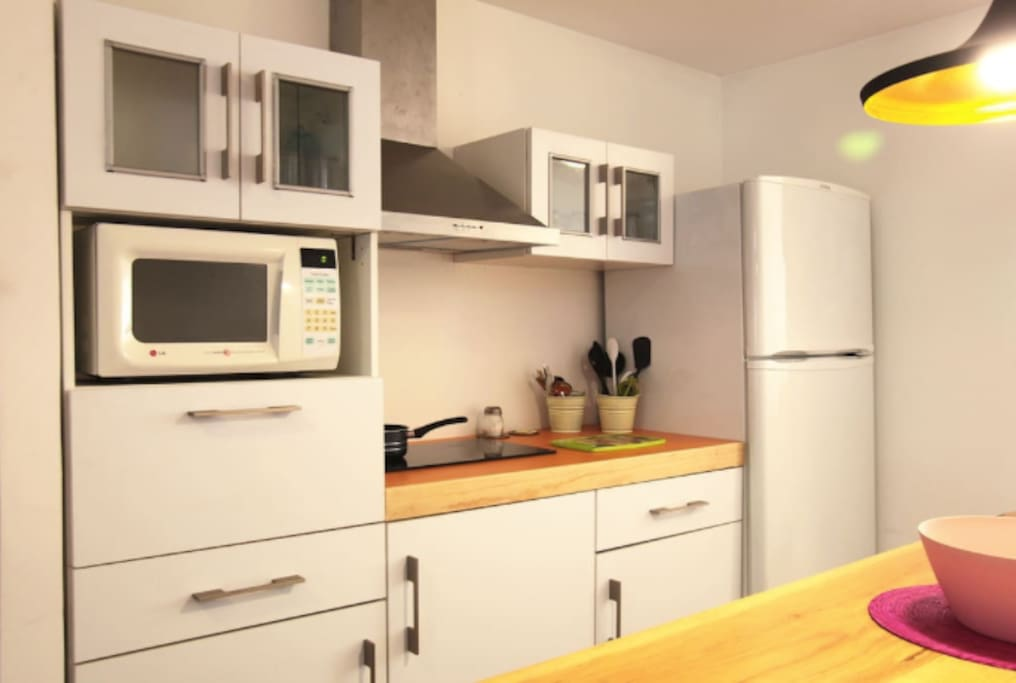 Apartment 1 - Kitchen Cocina