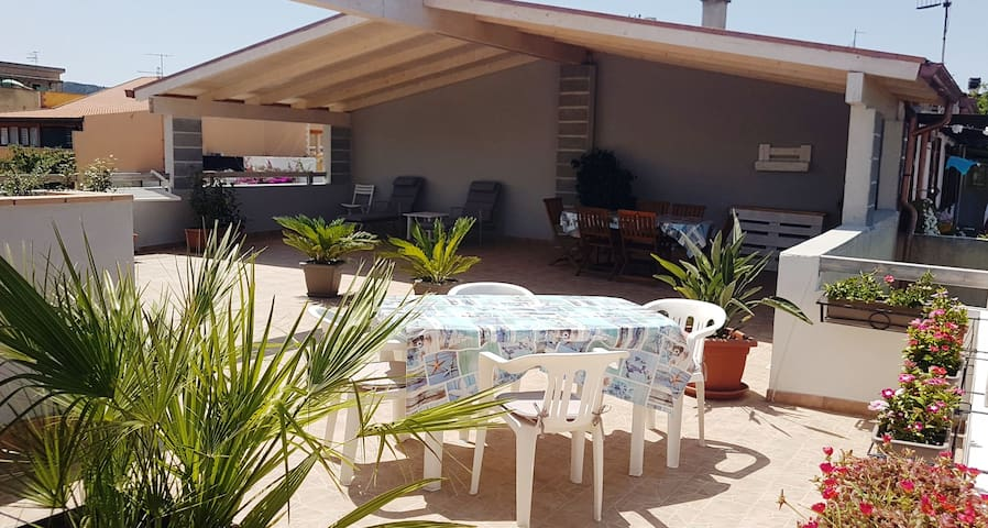 """Holiday Home """"Relais La Terrazza"""" with Sea View, Wi-Fi, Terraces & Balcony; Parking Available"""
