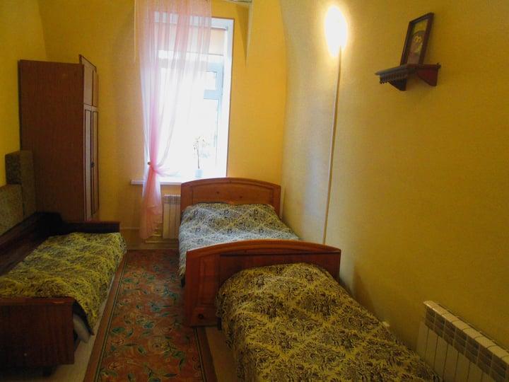 Квартира-студия в старинном особняке