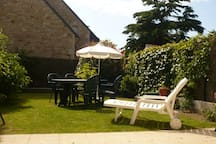 jardin clos et privatif