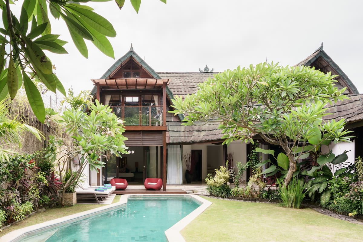 Captivating Poolside Villa Steps from Jimbaran Beach
