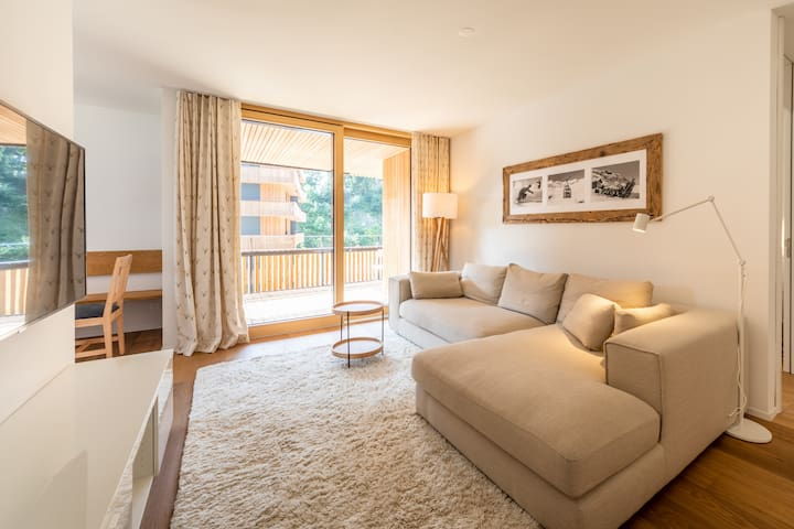 Brand new 2 bedroom apartment at the base station in Flims (Stenna C2.12)