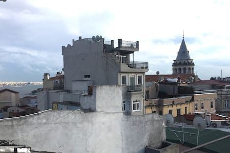 Terrace room in Tunnel, Galata - Apartment