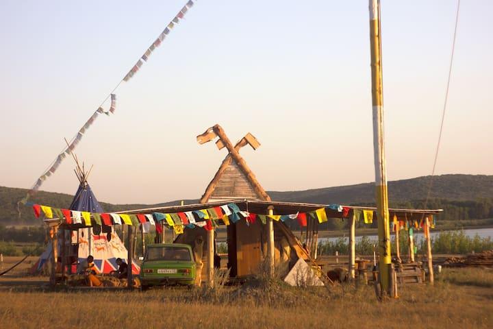 Башкирские юрты на Урале - Нугуш - Penzion (B&B)