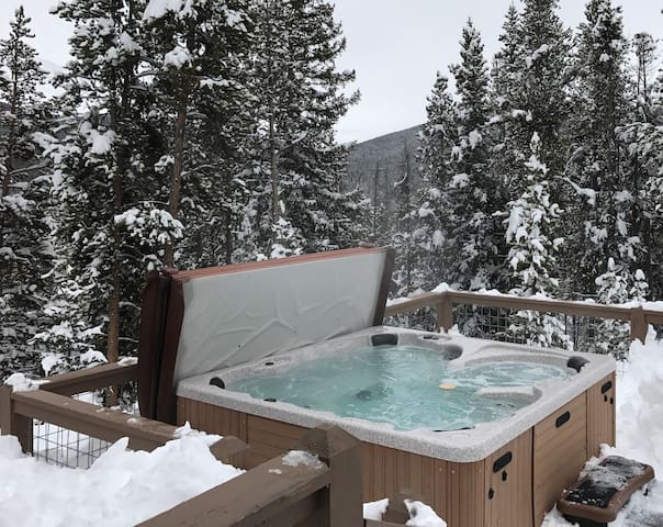 Lux SecludedHouse 360° Views Hot tub 10min to town