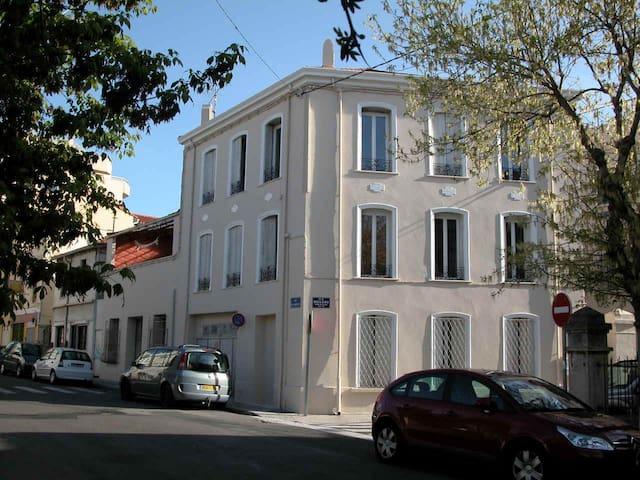 F3 deux chambres grand et clair - Perpignan - Apto. en complejo residencial