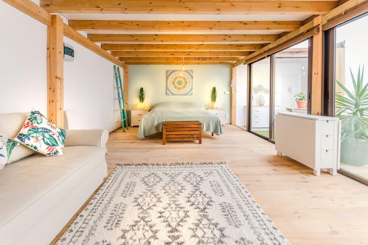 Mandala Studio El Cotillo: Peaceful and Private