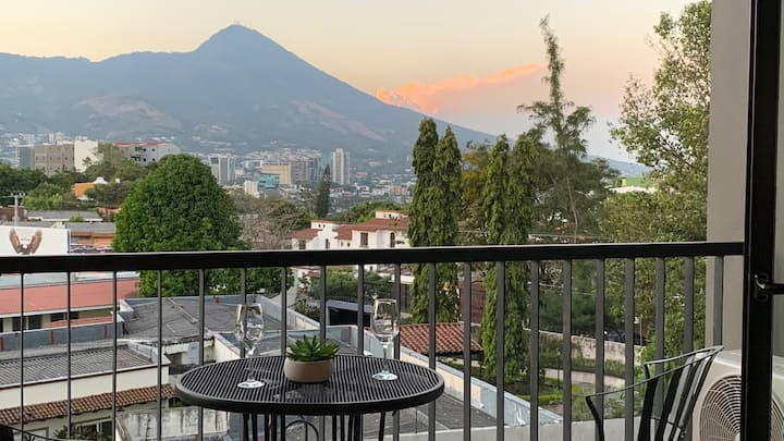 Apartment with great view / WiFi de 20 MB
