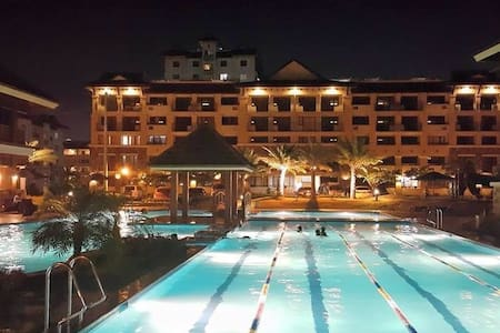 A Resort Inspired Condo in Cebu - Cebu City - Osakehuoneisto