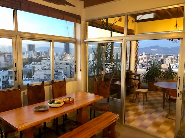 3-BDR Luxury Penthouse w/ panoramic Nicosia view