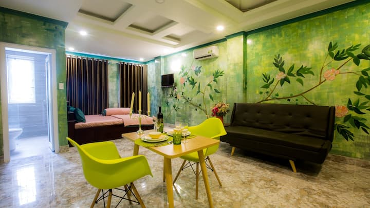 ♧GREEN Studio located next to D7 in [Trung Son]♧