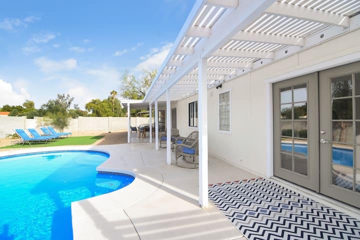 Modern Scottsdale 4 Bd by Golf Courses  w/ Pool!