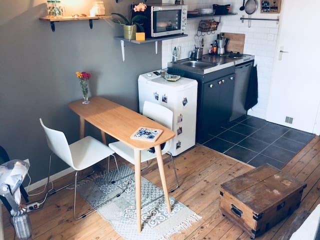 Petit studio au cœur de St Gilles