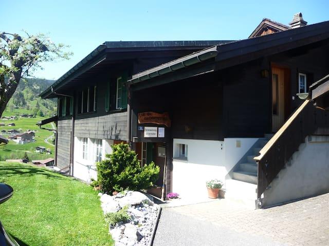 3.5 Zi.Ferienwohnung max. 3 Pers. - Grindelwald - House