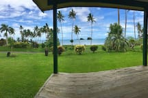 Panorama view from the porch.