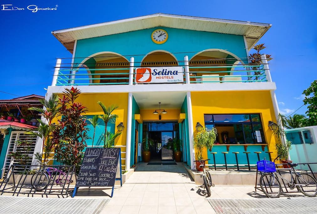 The hostel is perfectly placed, surrounded by restaurants and bars. The hostel has a quirky, fun feel to it with a really cool Bar on the waterfront! Staff were very helpful and friendly as well! Would definitely recommend staying here, looking around the island it's definitely the nicest place to stay!  - Melissa