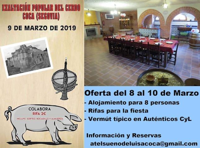 Alojamiento con encanto en Coca-Segovia