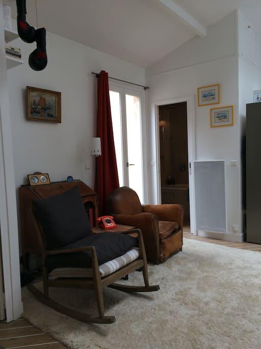 Le coin salon