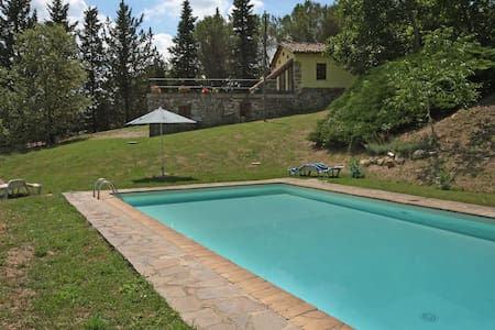 Farmhouse,views pool and tennis  - Umbertide - House
