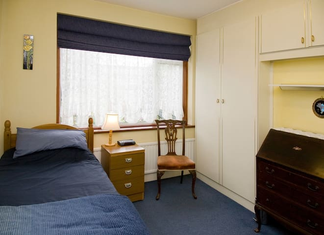 Light and airy single or twin room