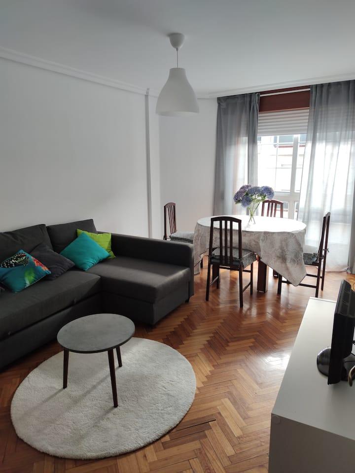 Fantástico apartamento  en el auténtico centro.