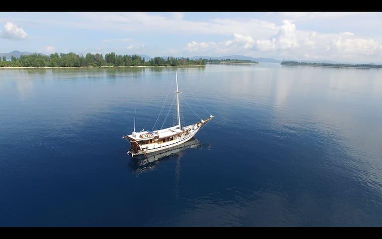 Pirate Boat Cruising & Sailing Komodo - Komodo - Boat