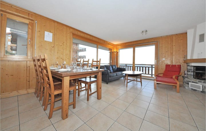 Holiday apartment with 3 bedrooms on 91m² in Veysonnaz