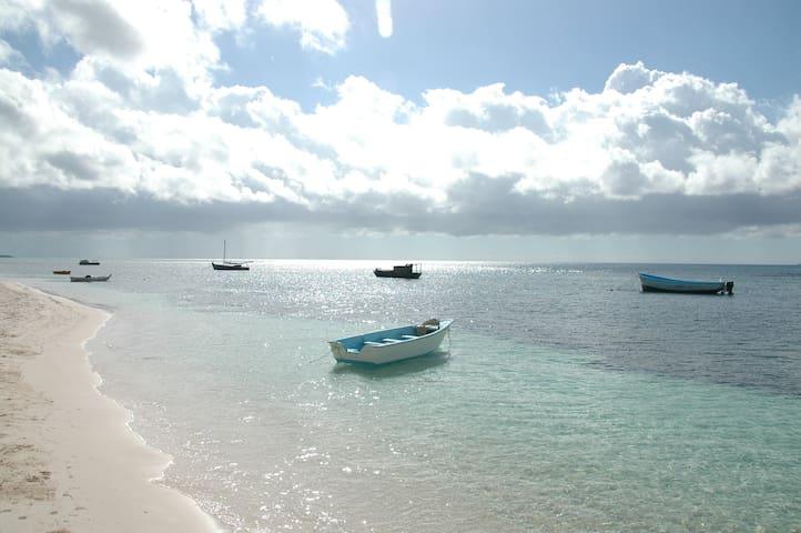 Habitacion a 100 mt de la playa - Dominicus - ที่พักพร้อมอาหารเช้า