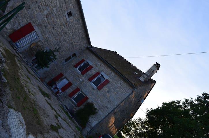 A louer Corps de Ferme rénové 10p - Fontans - House